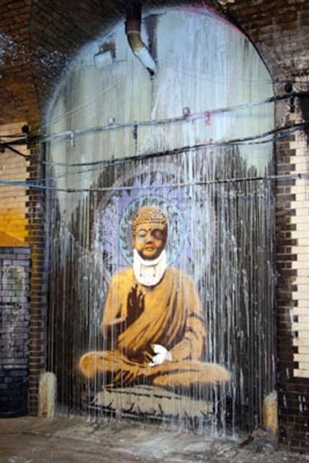 banksy_buddha